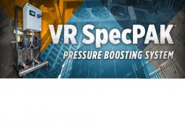 VR SpecPAK: Your New Pressure Boosting System