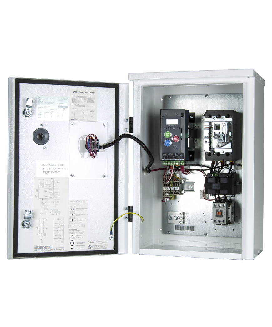 Intelligent Pump Starter Franklin Control Systems Of Wiring 3 Phase Distribution Board As Well 12 Volt Relay