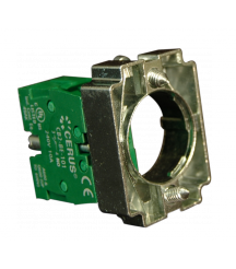 Contact Block Assembly With Collar, Contact 2 NO, Standard