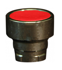 Pushbutton Operator, IP65, Flush, Spring Return Red