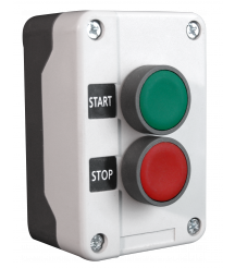 Complete Start-Stop Pushbutton Control Station, Metal