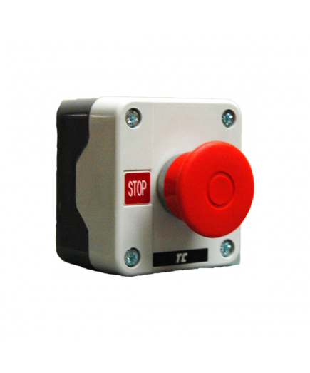 Complete Control Station, Key Stop with Mushroom Push Button