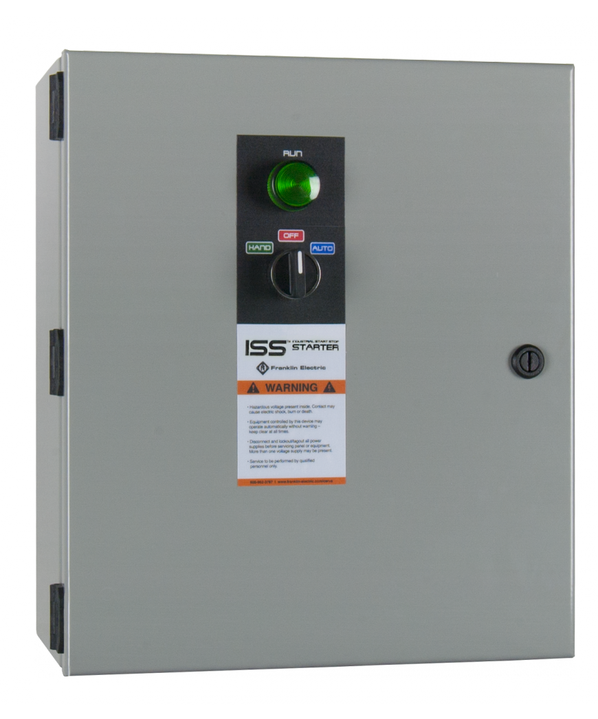 Industrial Start Stop Franklin Control Systems Single Pushbutton Run Circuit With Hoa Switch